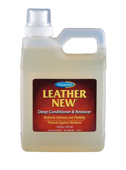 Olie til læder - Leather New Deep Conditioner & Restorer 473 ml, læderolie