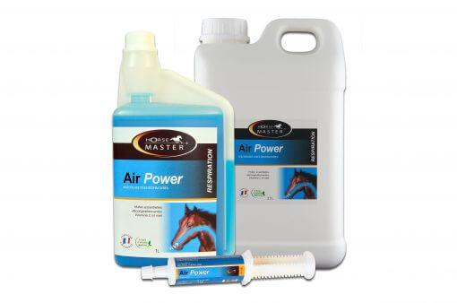 Air Power serie, ved irritert åndedrætsorganer