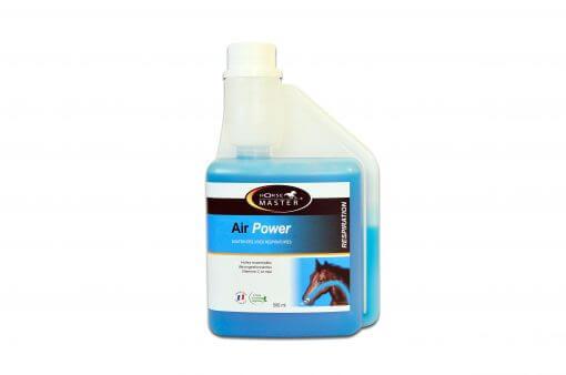 Mere luft til hesten vha. Air Power 500 ml, ved irritert åndedrætsorganer