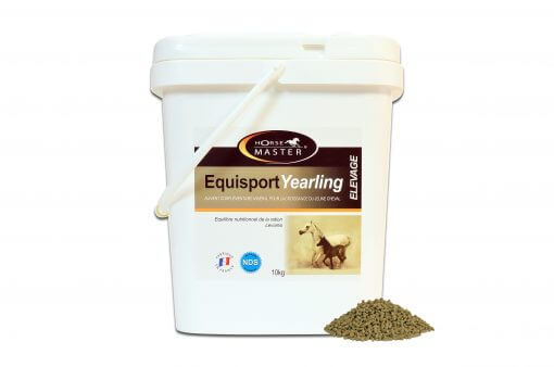 Equisport Yearling pellets 10 kg, fodertilskud til plage