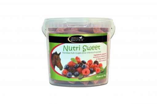 Nutri Sweet, godbidder til heste, med bærsmag