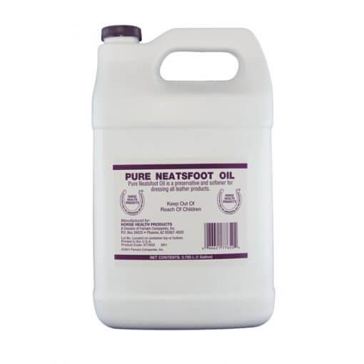 Dunk med Pure Neatfoot oil, læderolie 3,785 Liter