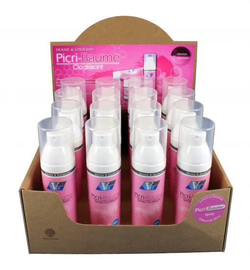 Picri-Baume spray i kasse fra Fed Vet