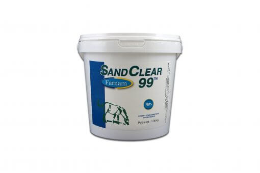 Sand Clear Loppefrøskaller til heste
