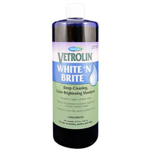Vetrolin White N'Brite en shampoo til hvide heste